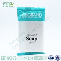 Wholesale cheap decorative rose soap/convenient hotel small soap