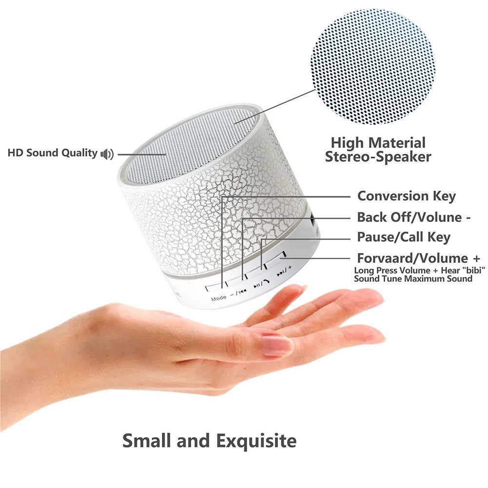 Cheap Portable Speaker Hand Free Profile Mini Speaker with TF Card, FM, Memory Card