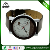 2013 leather wrap new ladies vogue watches for women with leather band special style hot in US