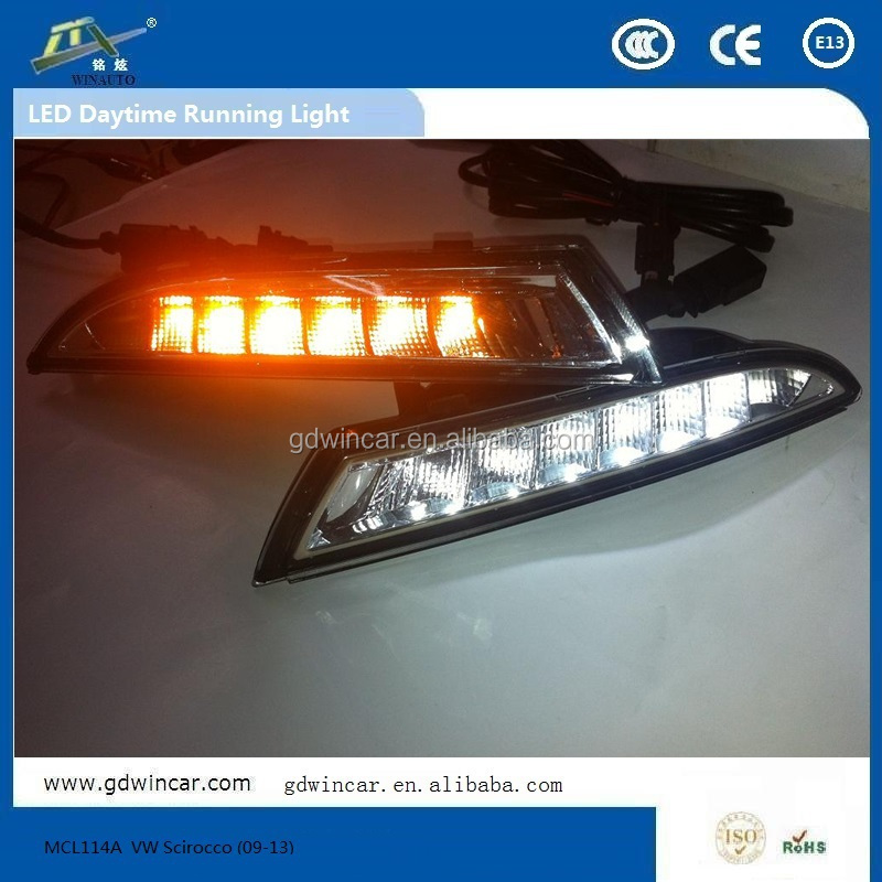 Waterproof automotive led bulbs for VW Scirocco (09-13) plastic rowing boat/auto led bulb
