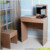 MDF melamine dressing table wooden with stool for sale