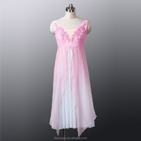 Fading Chiffon Ballet Dress Costume for Dance Show Professional Ballet Performance Costume Girls Pink and Blue Ballet Dress