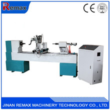 Simple operation Remax 1516 cnc wood turning lathe machine for furniture industry