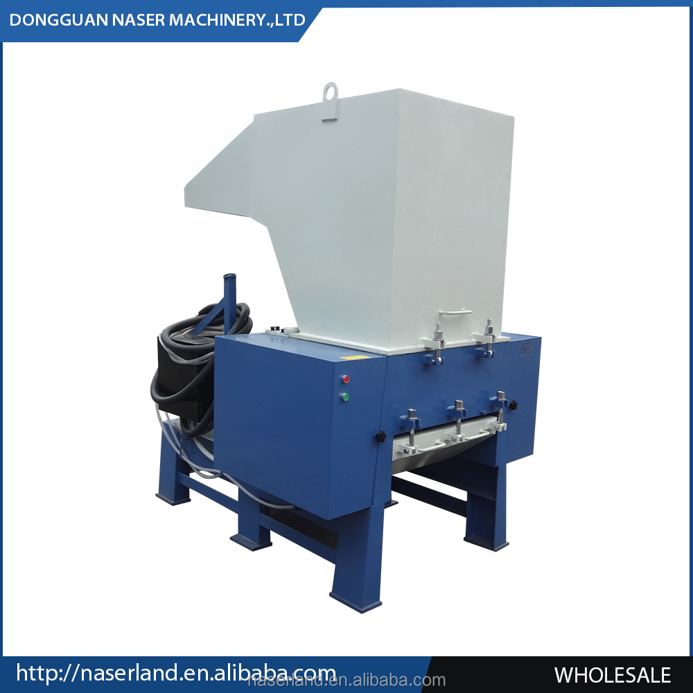 Strong industrial large scrap plastic shredder and recycling machine