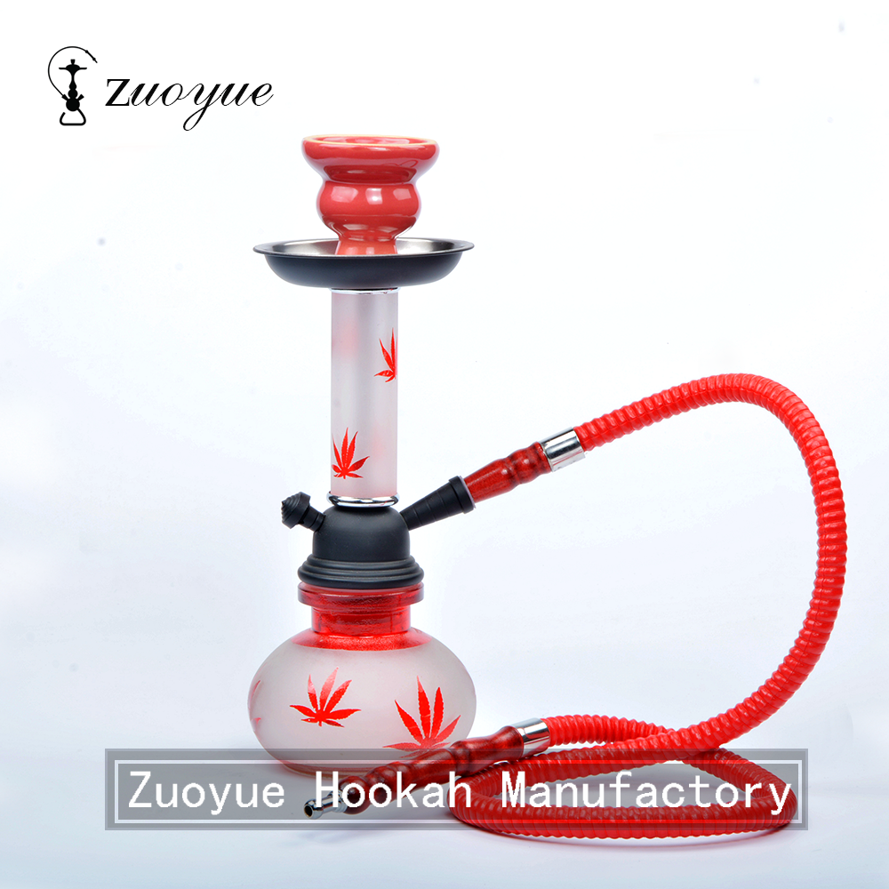 New design small blue nargile hookah shisha