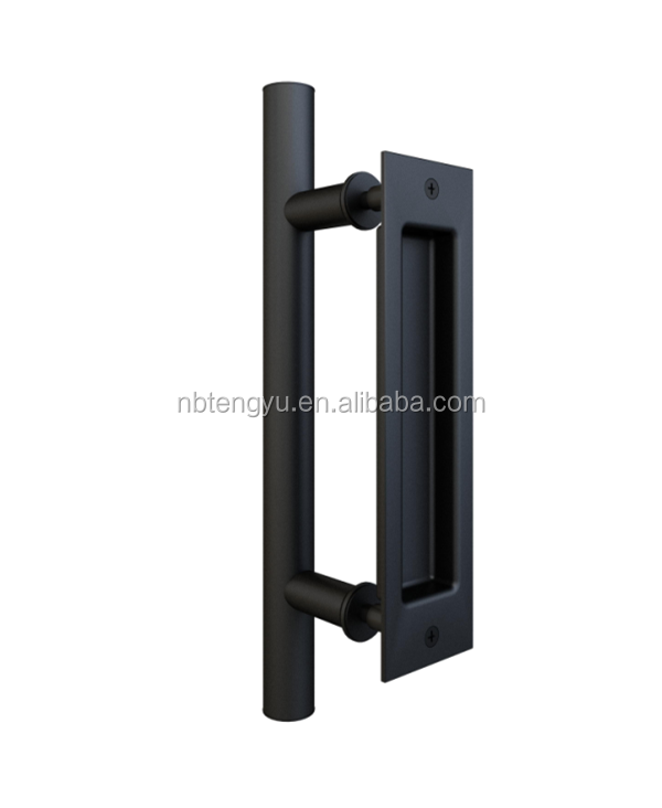 New Design Barn Door Handle Black