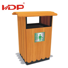 New Design Outdoor Durable Wooden Trash Can,Waste Bin,Garbage Can