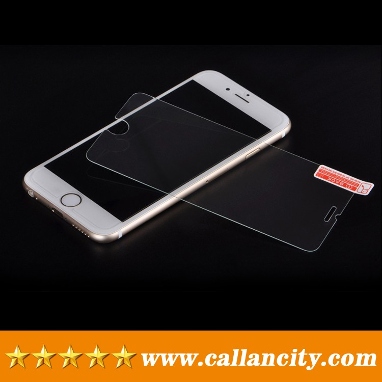 High transparent tempered glass screen protector for iphone 6