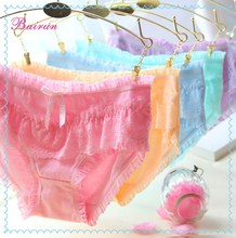 Fashion new style young girl underwear sexy lace underwear