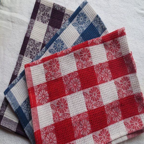 cotton customised printed tea towels