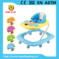 popular european standard base baby walker with musical dog face and light