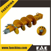 portable piling rig parts, Max diameter 2500mm, Rotary drilling rig auger bucket-FAECHINA