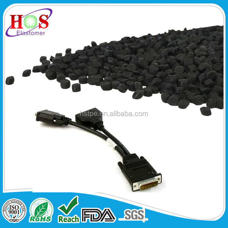rubber compound Halogen free flame retardant connector TPE TPV raw material