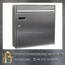 High precision customized stainless steel letter colletction box sheet metal fabrication