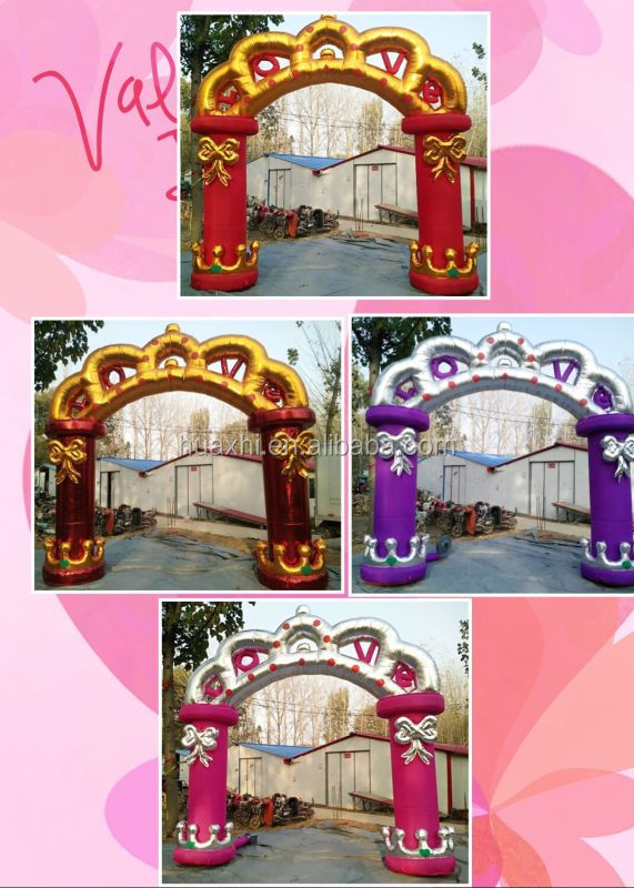 Hot sale cheap inflatable arch,inflatable Wedding arch christmas arch