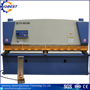 QC11K Guillotine Metal Sheet Cutting Machine Manufacturer Shearer Supply Hydraulic Steel Plate Shearing Machine For Sale