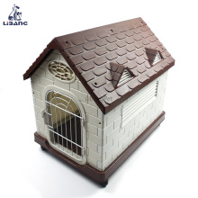 Competitive Price House Shape Pet Dog Plastic Cage
