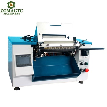 Electric motor coil binding machine plastic spiral coil binding machine