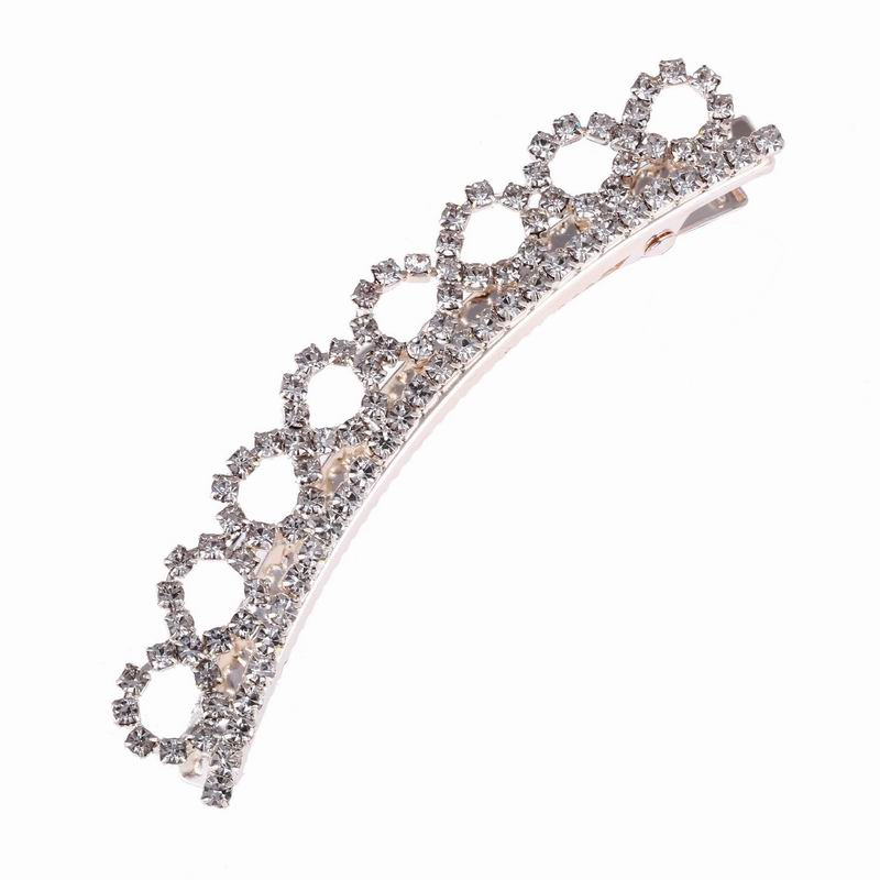 Wholesale Price Elegant Crystal Crown Hair Jewelry Princess Tiara Infintely Hair Clips Head Accessories For Women Jewelry