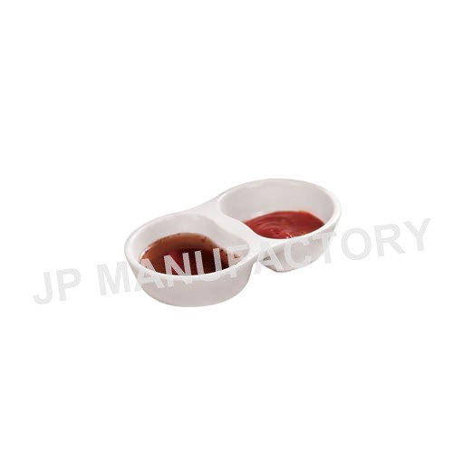 new product japanese style 2 in 1 sauce plate for restaurant