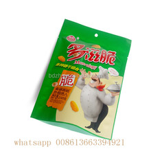 Snack Use and Plastic Material Flexible Packaging pouches