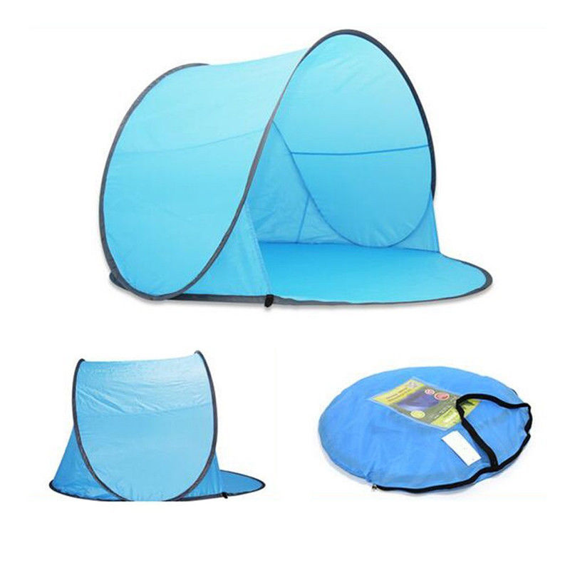 1-2 Person Automatic Pop Up Instant Portable Beach Camping Outdoor Tent Shelter