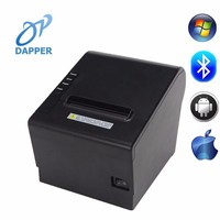 80mm themal wireless POS ticket barcode receipt WIFI printer WIFI+USB interface