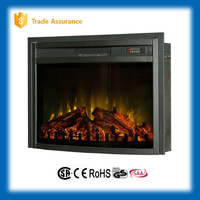 "SALE 26"" classic insert wood fireplace electrical"