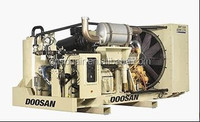 Ingersoll-rand Doosan portable diesel screw air compressor--XXHP1270/XHP1500FCAT Dual Pressure - High Flow 500 and 350 PSI