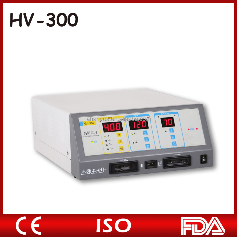 CE Marked Electrosurgical Cautery Unit medical device/high frequency ESU unit