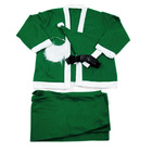 Green Santa Claus Costume