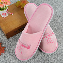 Wholesale terry towel design hotel bath slippers