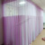 100% polyester good quality ready made fabric for hospital curtains