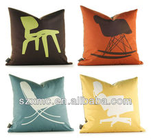 skillful handmade professional manufacture household bedding set Interio decorr sitting felt home cushion cover