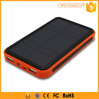 Rechargeable Power Bank 10000mAh Portable Solar Battery Charger