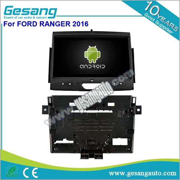Touch screen car audio gps navigation car dvd player android for Ford Ranger 2016