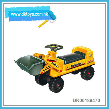 Simulation Bulldozer Ride On Car 4 Wheels Kid's Scooter Kids Toy With EN71 ASTM Certificate