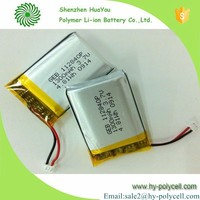 112840 3.7v 1300mah polymer lithium ion battery pack for mobile power