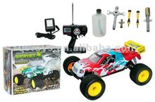 1:8 Scale RC Nitro Gas Powered Cross Country Car
