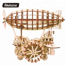 Airship Custom Wood Adult Puzzle Games Brain Teaser, Construction Set 3d Wooden Puzzle for Teens and Adults