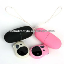 Cute nice hot sale cow remote control vibrating jump egg vibrator