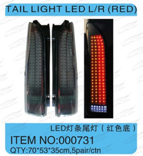 kdh 200 body parts NEW MODEL #000731 for hiace latest tail light LED(RED) for for hiace 2005-2013,for hiace200 commuter parts