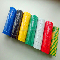 Shinny PVC Adhesive electrical tape for insulation wires