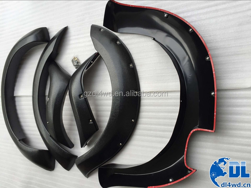 Aftermarket car spare parts 4x4 fender flare for Ford Ranger