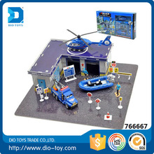 2016 newest selling toys alloy police toy set