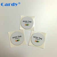 Free sample 13.56mhz iso14443a NFC sticker with chip Ntag203