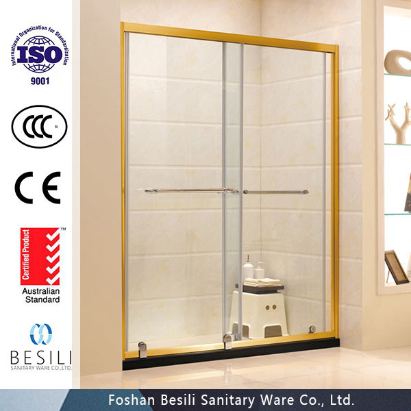 DuBai 8mm tempered glass partition shower room E3