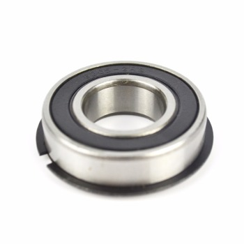 Deep groove ball bearing 6205-2RS with locating snap ring 6205 NR