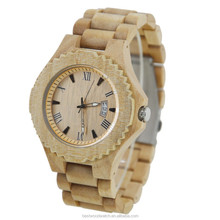 New Arrival Men Watches Japan 2115 Movt Quartz Wood Wrist Watch With Sr626sw Battery