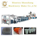 SZJP-DC-900 High-speed PP PS single layer sheet making Machine
